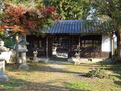 現在この地には大原神社があります。主祭神は奈良県神社庁によれば、品陀別命(ほむだわけの・みこと、応神天皇)、創建年代不明。