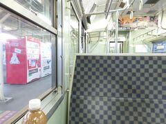 ★18:05 小諸駅に到着し、しなの鉄道の電車に乗り換え~ 丁度上田方面の列車に程よく乗れる時間に着いたのでラッキー。