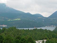芦ノ湖をこんな風に眺めるのは初めてかも…