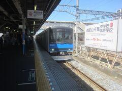 https://4travel.jp/travelogue/11688077 で牛島の藤を見て、春日部駅までお散歩した後で東武アーバンパークラインで移動です