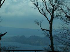 十和田湖、発荷峠付近