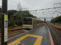 この駅で降りる。
