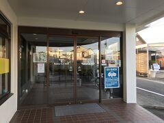本日の宿、hotel&Rentacar660の入り口。