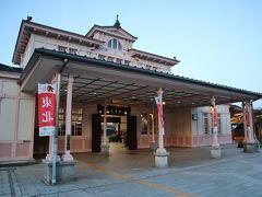 JR日光駅 日光ステーションホテルの直ぐ目の前にあります。とってもクラシカルで素敵な駅です。