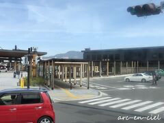 途中、昨年12月に訪れた日田駅を通過。 日田バスターミナルが駅前にあったなんて!