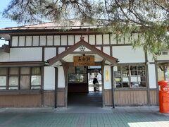 風情のある長瀞駅。