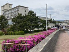 ホテル竹島が見えます。