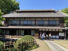 旧渋沢邸。中ん家