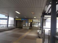 【 ゆりかもめ線 汐留駅】 台場駅まで乗車します。