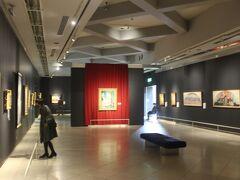現在はその大石邸跡には笠間日動美術館があります。 民間の美術館なのでやや規模は小さいですが、有名な画家の絵も結構見れました。  また日本の美術館には珍しく一部を除いて写真撮影OKもうれしい美術館です。
