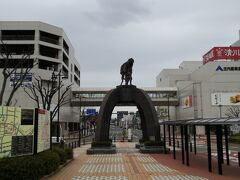 鶴岡駅到着