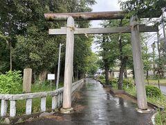 深見神社の入り口鳥居です。