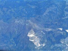 伊吹山が見えた。