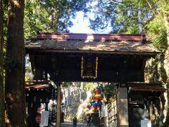 武蔵野三十三観音32番大鱗山 天龍寺(子ノ権現) 山門ではなく鳥居。 こちらは神仏習合の寺です。 天龍寺というより子ノ権現として知られています。