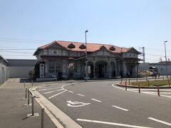 旧浜寺公園駅舎です