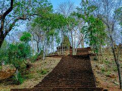 丘の上へ登る114段ある階段