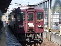 さて整理券を購入したところで桐生駅からわたらせ渓谷鐵道に乗車です。トロッコは大間々駅からですのでそこまでばごらんのとおりディーゼルカーです。