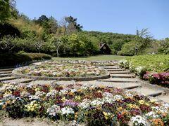 同線的には無駄な事をしてしまったけど    草餅は重要なミッションなので致し方ない     って事で同公園だけど、今度はお花を眺めながらモグモグ
