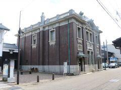 森田銀行 福井県に現存する最古の鉄筋コンクリート造建築