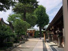 櫛田神社の境内
