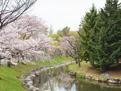 さて 地下鉄南北線で「中島公園」駅へ。  札幌を流れる豊平川、 その分流の鴨々川沿いに 整備された公園が中島公園です。