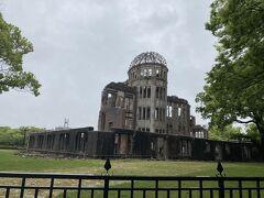 広島来たら見ておきたい原爆ドーム