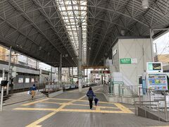 広島からJRで西広島駅 広島電鉄に乗車します。