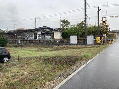 空港から5分ほどで到着。 草江駅です。