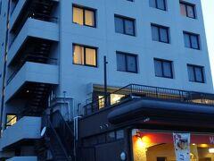 宮島口近くのホテルに宿泊