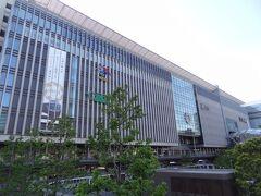 8:50 博多駅に着きました。 大きくて、立派な駅だなぁ。