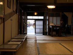 まずは道の駅から歩いてすぐの旧笠井邸。 受付の方がかなり親切で、いろいろ教えてもらいました。