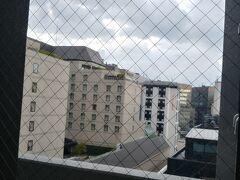 おはようございます 06:00前起床します ネストホテル博多駅前 からの眺めです