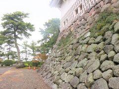 【100名城№91 島原城】  天守の石垣