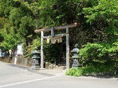 さらに奥のパワースポット、荒立神社まで足を伸ばしました。