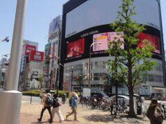 新宿駅西口の「どこか」???。  どこを歩いているのか、さっぱりわからない・・・・