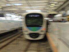 西部新宿線 新宿駅。