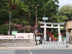 ワイナリー後は帰り道だったので足利織姫神社に寄ってみました。