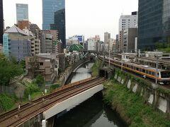神田川の絶景 昭和7年にこの総武線は作られたそうです。