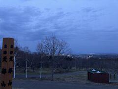 明日は天気が悪いということで、最後の悪あがきで天都山へ・・・真っ暗でやっぱりダメでしたね。。。