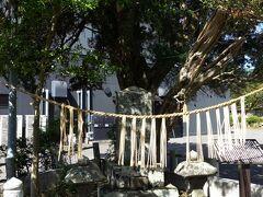 高千穂神社に行く前に、鬼八塚へ。