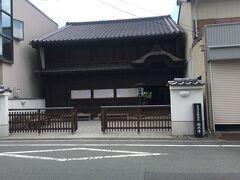 舞阪宿脇本陣 あれ、こんなところに脇本陣がありました。