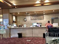 下部ホテルは大型の温泉旅館でした。名門ホテルらしく従業員の対応はよく訓練されていて、何事もスピーディーでした。