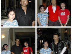 【2004年】モアナサーフライダー  モアナサーフライダーホテルで食事をした日に、プロ野球名球会のパーティーが開かれていて、ちょうど選手の方々が出ていらしたので一緒に写真を撮ってくださいと依頼すると皆さん、気さくに撮ってくださいました。  特に母は横浜ベイスターズの大ファン! 浜の大魔神佐々木投手(左上)、大好きなハマの番長三浦投手(右下)に会えて大喜び♪  私は巨人の高橋選手(左下)や、金田名球会会長(右上)と撮っていただきちょっと緊張しました! とてもいい思い出です(^^)   ショッピングとしては、完走者だけが購入できるフィニッシャーロゴ入りのグッズを記念に買いたくて、ランニング用の帽子を買いました。