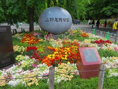 花見の時期には園内一方通行など規制された上野公園は・・・