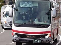 チェックアウトしたら登別を後にします!帰りは中央バスで札幌に戻ります!