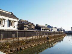 何の飾りもされてなかったので、栃木市ではお馴染みの巴波川の写真を1枚撮って帰りました