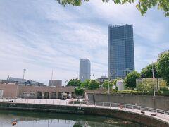 横浜美術館まで歩いてみた。