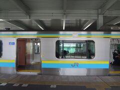 木更津駅から E 131系 乗車します *https://www.jreast.co.jp/press/2020/20200512_ho01.pdf