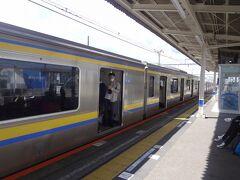 千葉まで 209電車  209系 https://www.jreast.co.jp/train/local/209.html