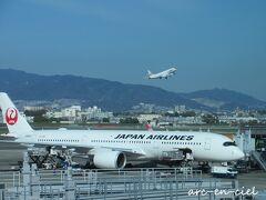 【4月12日(月)1日目】 今回も、JAL(J-AIR)で出発。